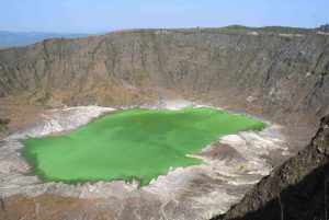 Chichonal Volcano crater