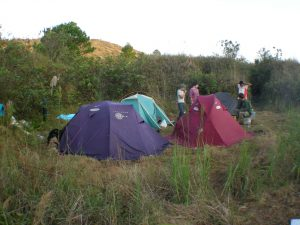 Base Camp near the Chichonal volcano